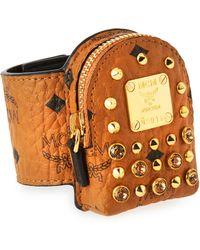 MCM - Visetos Backpack-shaped Bracelet - Lyst