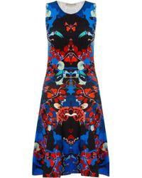Mary Katrantzou Milano Dress Abalone Midnight - Lyst