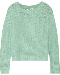 Elizabeth And James Cotton-Blend Sweater - Lyst
