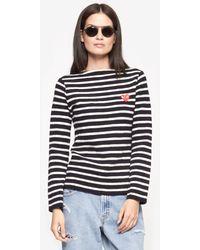 Play Comme Des Garçons Stripe Sweater - Lyst