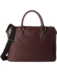 Vivienne Westwood | Leather Document Bag | Lyst