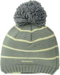 Reebok Women'S Colorado Avalanche Pom Knit Hat - Lyst
