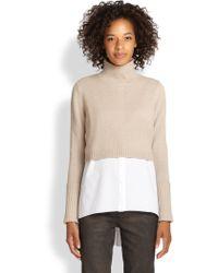 Elie Tahari Cashmere Raleigh Sweater - Lyst