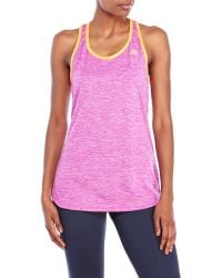 Adidas Purple Space-Dye Logo Tank - Lyst