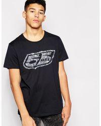 55dsl - Shield Logo T-Shirt - Lyst