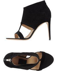 Ferragamo Sandals black - Lyst