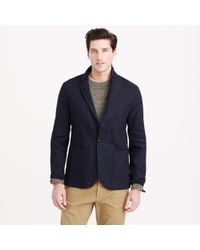 J.Crew Wallace & Barnes Indigo Workwear Sportcoat - Lyst