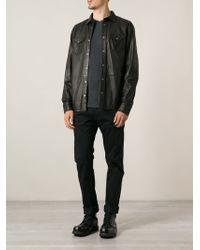 Diesel Black Classic Shirt - Lyst
