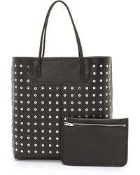 Alexander Wang - Prisma Tote With Eyelets - Black - Lyst