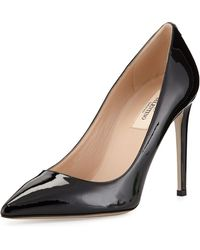 Valentino Patent Point-toe Pump - Lyst