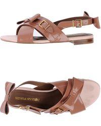 Sonia Rykiel Sandals pink - Lyst