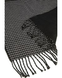 Forever 21 - Men Reversible Houndstooth Scarf - Lyst