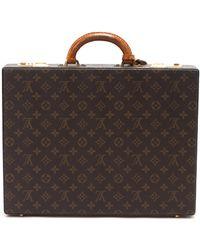 Louis Vuitton Monogram Attache Suitcase - Lyst