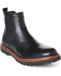 French Connection Black Fender Boots - Lyst