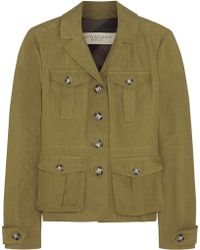 Burberry Brit - Linen Jacket - Lyst