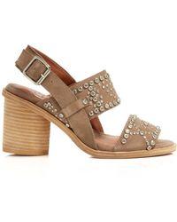 Jeffrey Campbell Slingback Sandals - Prevaza Chunky Heel - Lyst