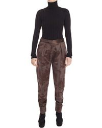 Damir Doma Kolay Knitted Turtle Neck Top - Lyst