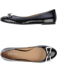 Armani Jeans Ballet Flats - Lyst