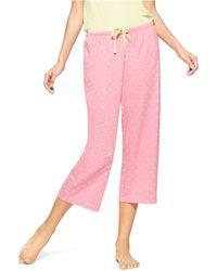Hue - Little Dotz Capri Sleep Trousers - Lyst