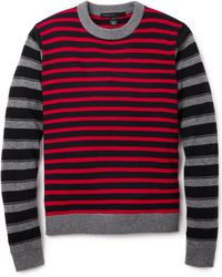 Marc By Marc Jacobs Combo Stripe Sweater - Lyst