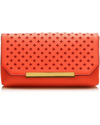 J.Crew Claremont Perforated Clutch - Lyst
