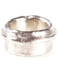 1-100 | Metallic Ring | Lyst