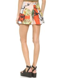 Clover Canyon - Falling Leaves Shorts - Multi - Lyst