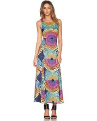 Mara Hoffman Cut Out Maxi Dress - Lyst