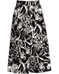 H&M Calf-Length Skirt - Lyst