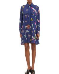 Mary Katrantzou Collageprint Shirtdress - Lyst