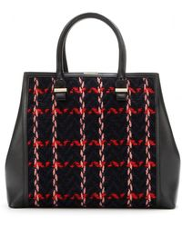Victoria Beckham Liberty Embroidered Tote - Lyst