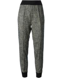 Forte Forte - Jogging Style Tweed Trousers - Lyst