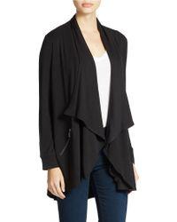 Kensie - Jersey Cardigan Coat - Lyst