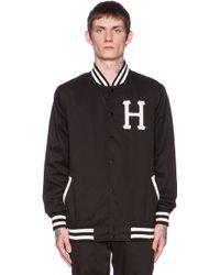 Huf Classic H Baseball Jacket - Lyst