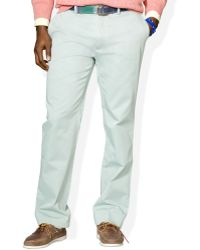 Polo Ralph Lauren Suffield Classicfit Flatfront Chino Pants - Lyst