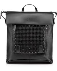Christian Louboutin Syd New Backpack Calf /Spikes - Lyst