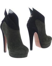 Alaïa Green Shoe Boots - Lyst