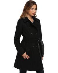 DKNY Color Block Trench Coat Y4 - Lyst