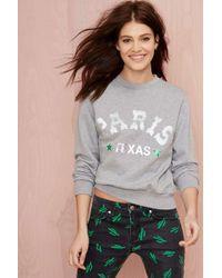 Nasty Gal American Retro Paris Texas Sweatshirt - Lyst