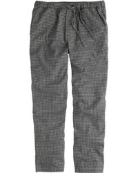 J.Crew Flannel Pajama Pant in Check - Lyst