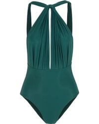 Lenny Niemeyer - Ruched Cutout Swimsuit - Lyst