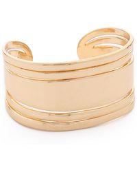 Sam Edelman - Open Metal Cuff Bracelet - Gold - Lyst