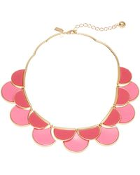 Kate Spade Contrasting Collar Necklace - Lyst
