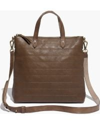 Madewell The Quilted Mini Transport Crossbody - Lyst