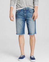 Joe's Jeans - Cut Off Shorts In Simo blue - Lyst