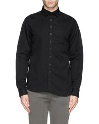 1.61 - 'secret' Well-washed Chino Shirt - Lyst