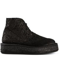 Barny Nakhle - Textured Desert Boots - Lyst