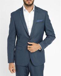 Celio Club | Navy Suit Jacket | Lyst