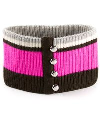 Bouchra Jarrar - Chunky Knit Collar - Lyst
