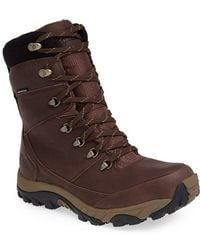 The North Face Men'S 'Chilkat Ii' Waterproof Leather Snow Boot - Lyst